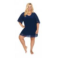 Женская ночная сорочка 503 индиго