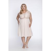 Женская ночная сорочка  телесного цвета  504