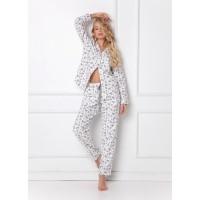 Пижама со штанами SERENE WHITE