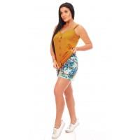 Женский комплект с шортами-2518