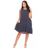 Платье туника женская хлопковая  5128