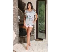 Пижама с шортами 224741