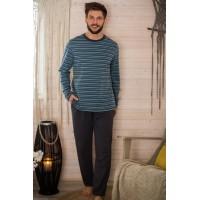 Пижама мужская с шортами MNS 351 2 A21
