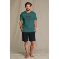Пижама мужская с шортами MNS 709 A21