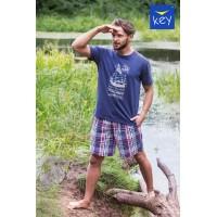 Пижама мужская с шортами MNS 710 A21