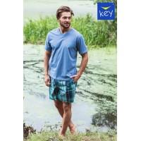 Пижама мужская с шортами MNS 714 A21