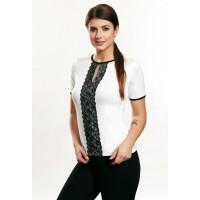 Блузка с коротким рукавом Violana Chiara черный