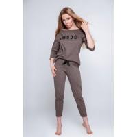 Пижама женская со штанами /Домашний костюм MOOD